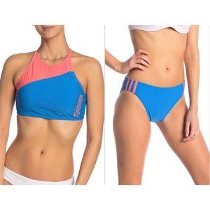 ADIDAS 2 Piece Bikini Swimsuit Size Large